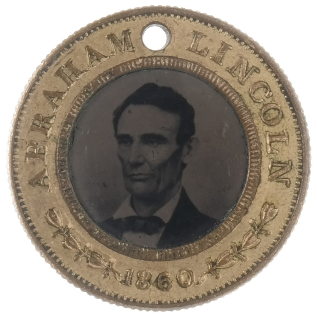 A. Lincoln & H. Hamlin 1860 Campaign Back-To-Back