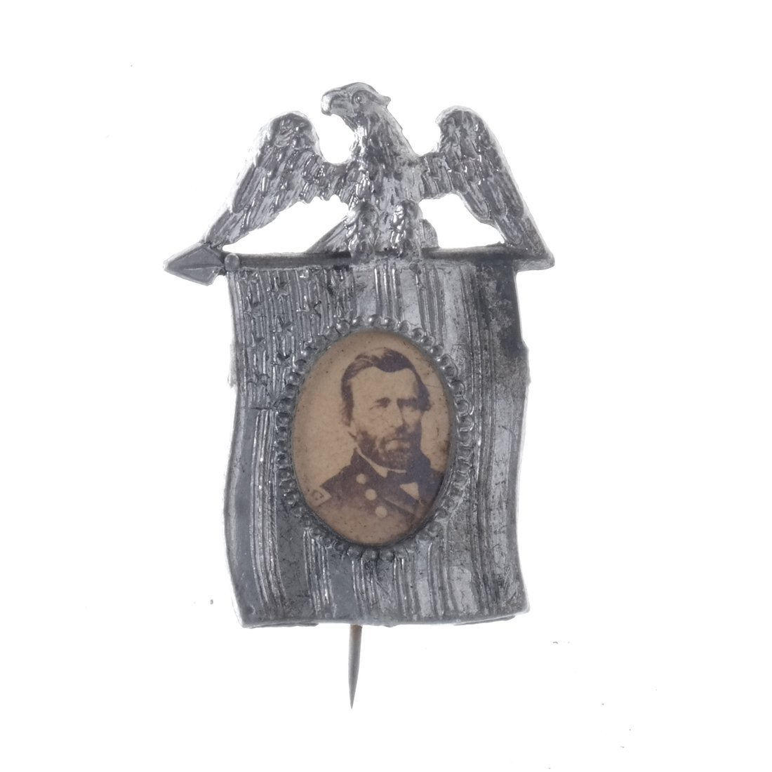 U.S. Grant Five Gem-Size Portrait Stickpins - 4