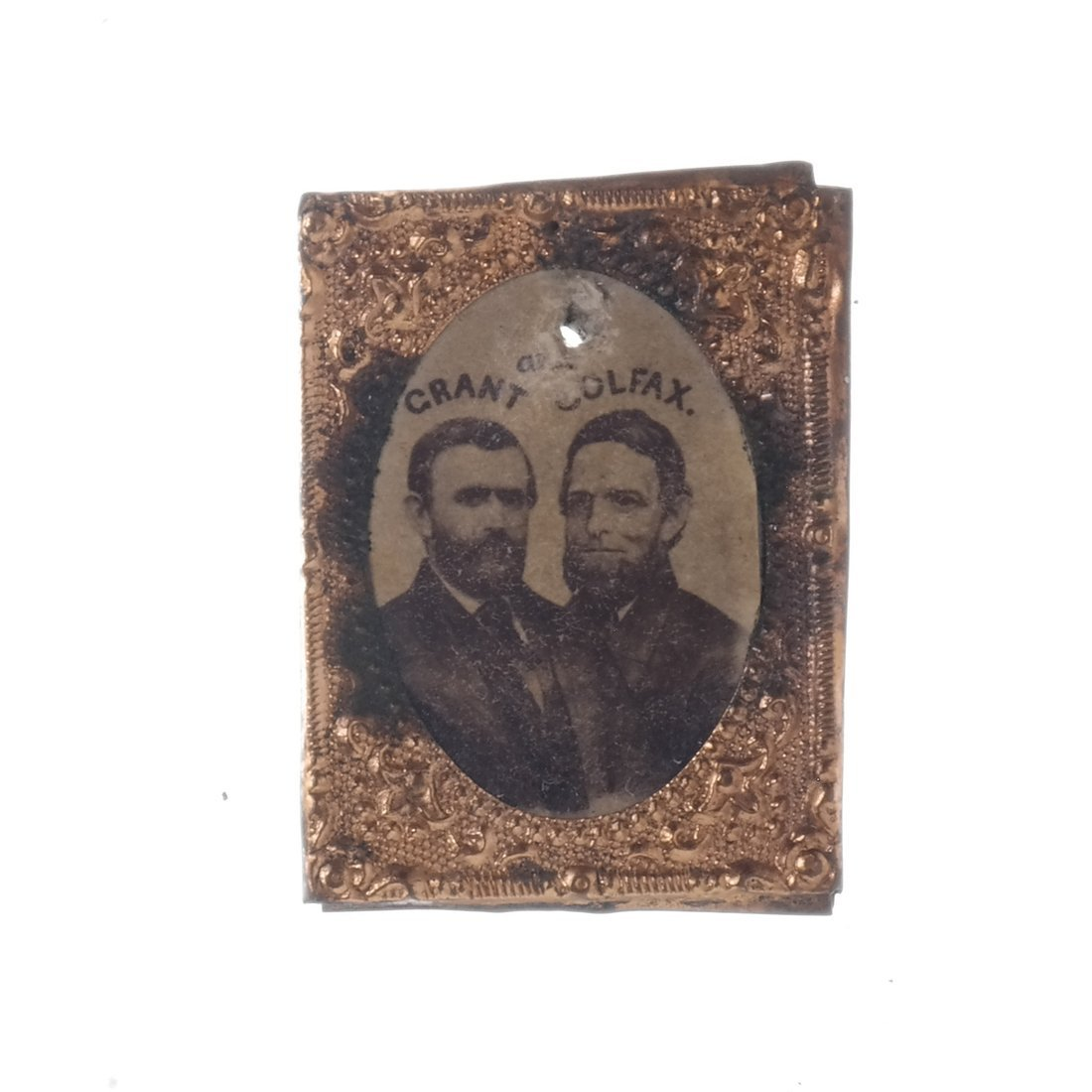 U.S. Grant Five Gem-Size Portrait Stickpins - 5