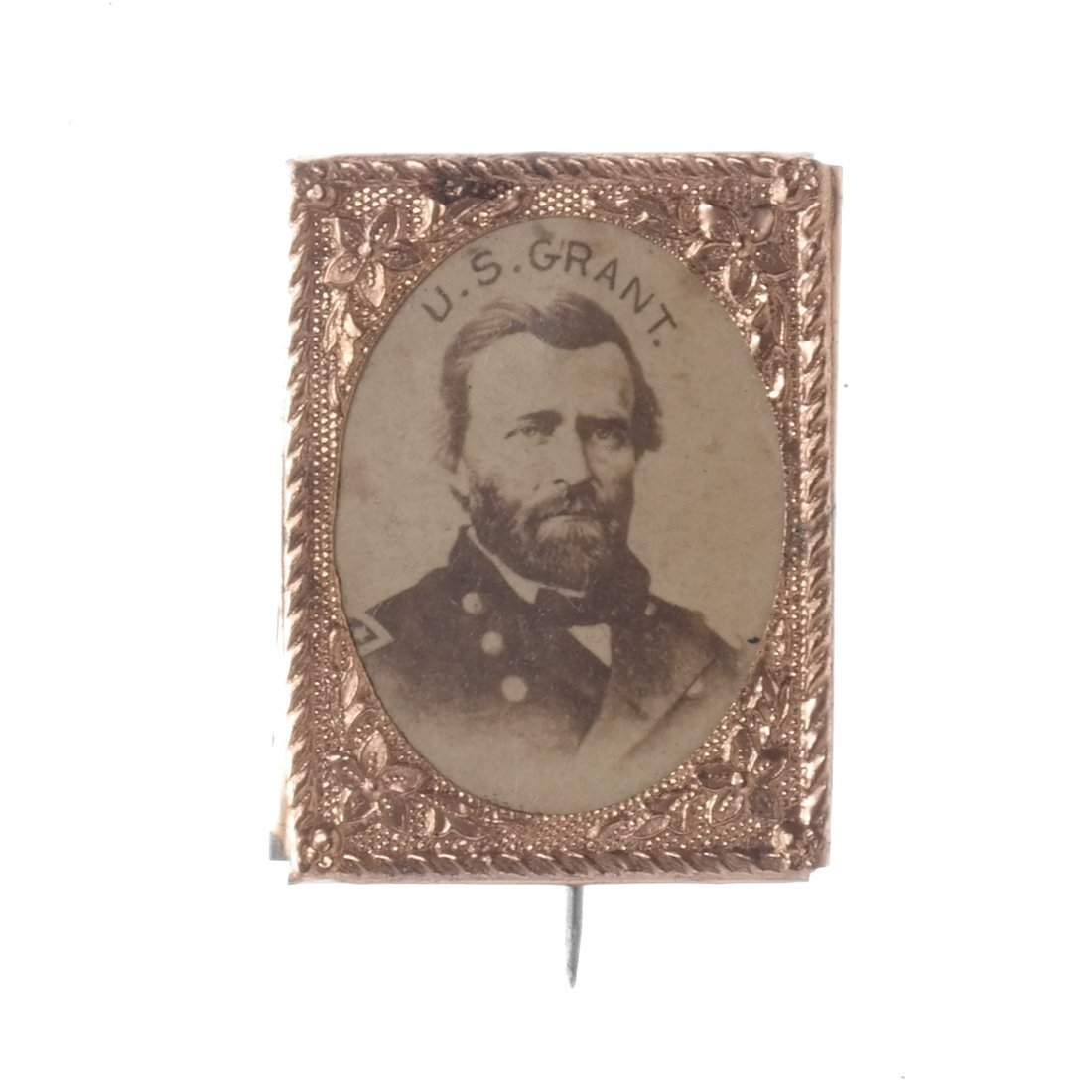 U.S. Grant Five Gem-Size Portrait Stickpins - 6