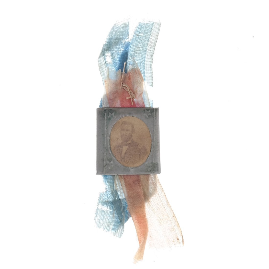 U.S. Grant Five Gem-Size Portrait Stickpins - 7