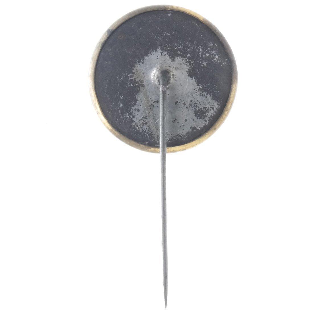 Grant & Colfax 1868 Jugate Ferrotype Stickpin - 2