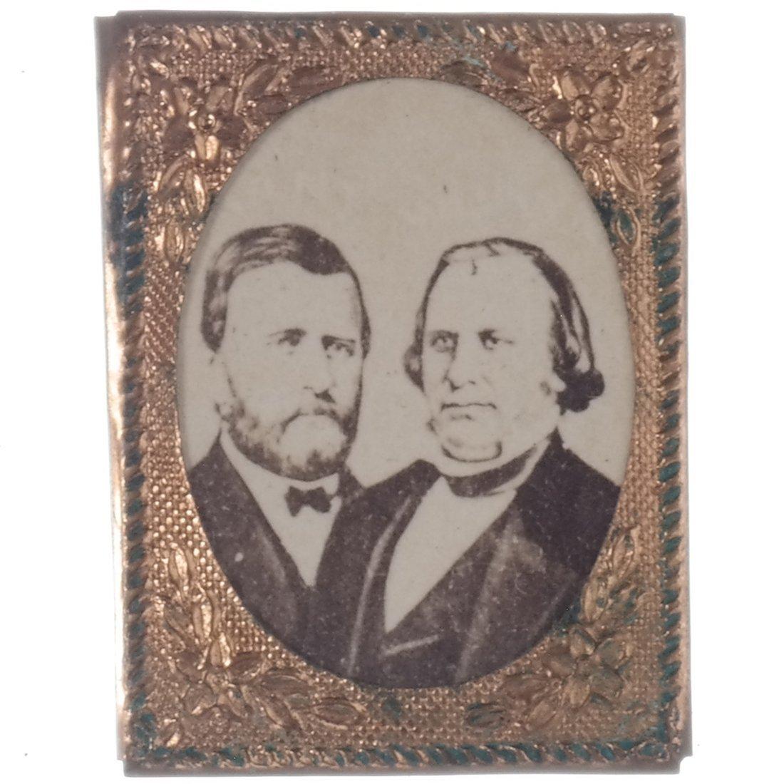 Grant & Wilson 1872 Jugate Albumen