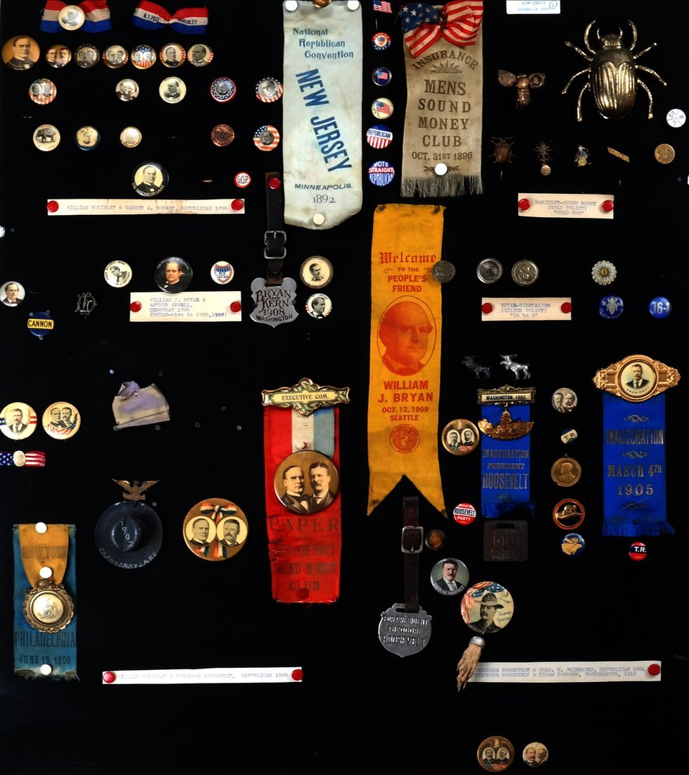 1892 Through 1904 Presidential Campaign Display