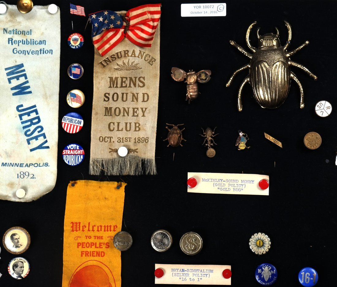 1892 Through 1904 Presidential Campaign Display - 3
