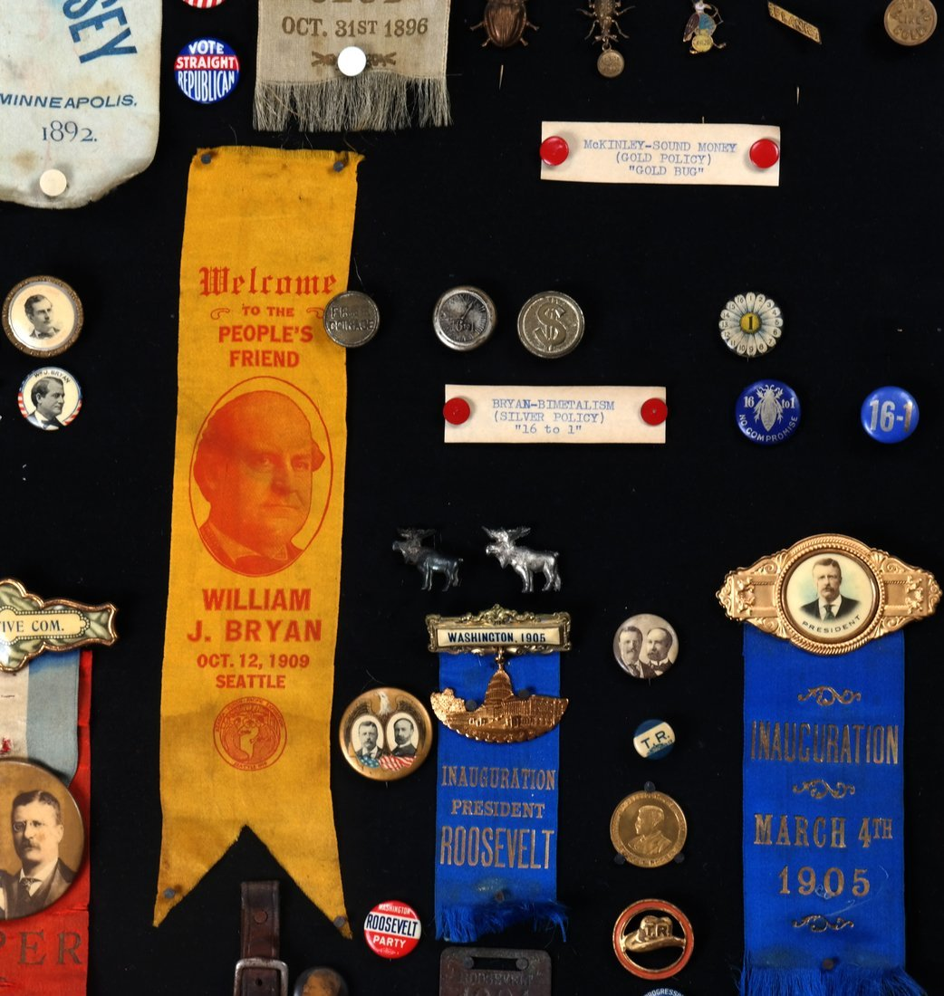 1892 Through 1904 Presidential Campaign Display - 4