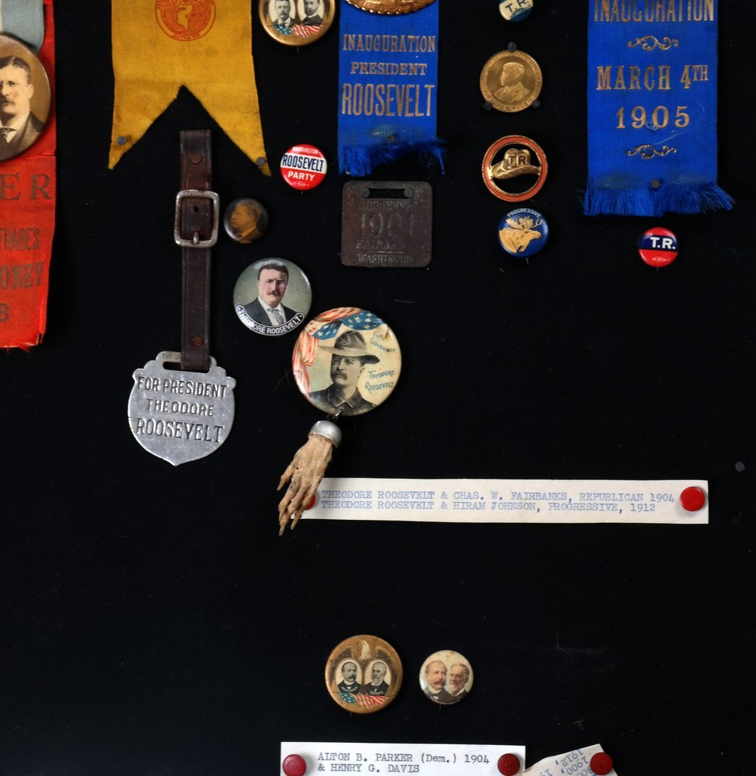 1892 Through 1904 Presidential Campaign Display - 5