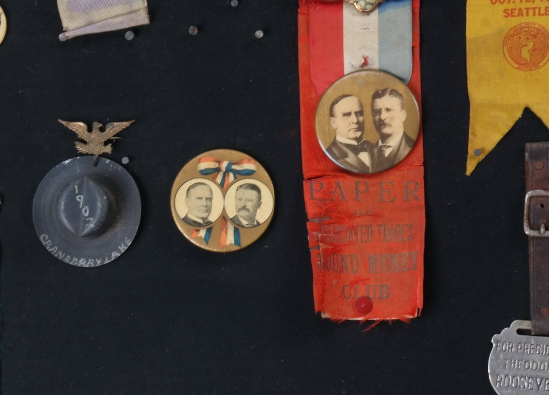 1892 Through 1904 Presidential Campaign Display - 6