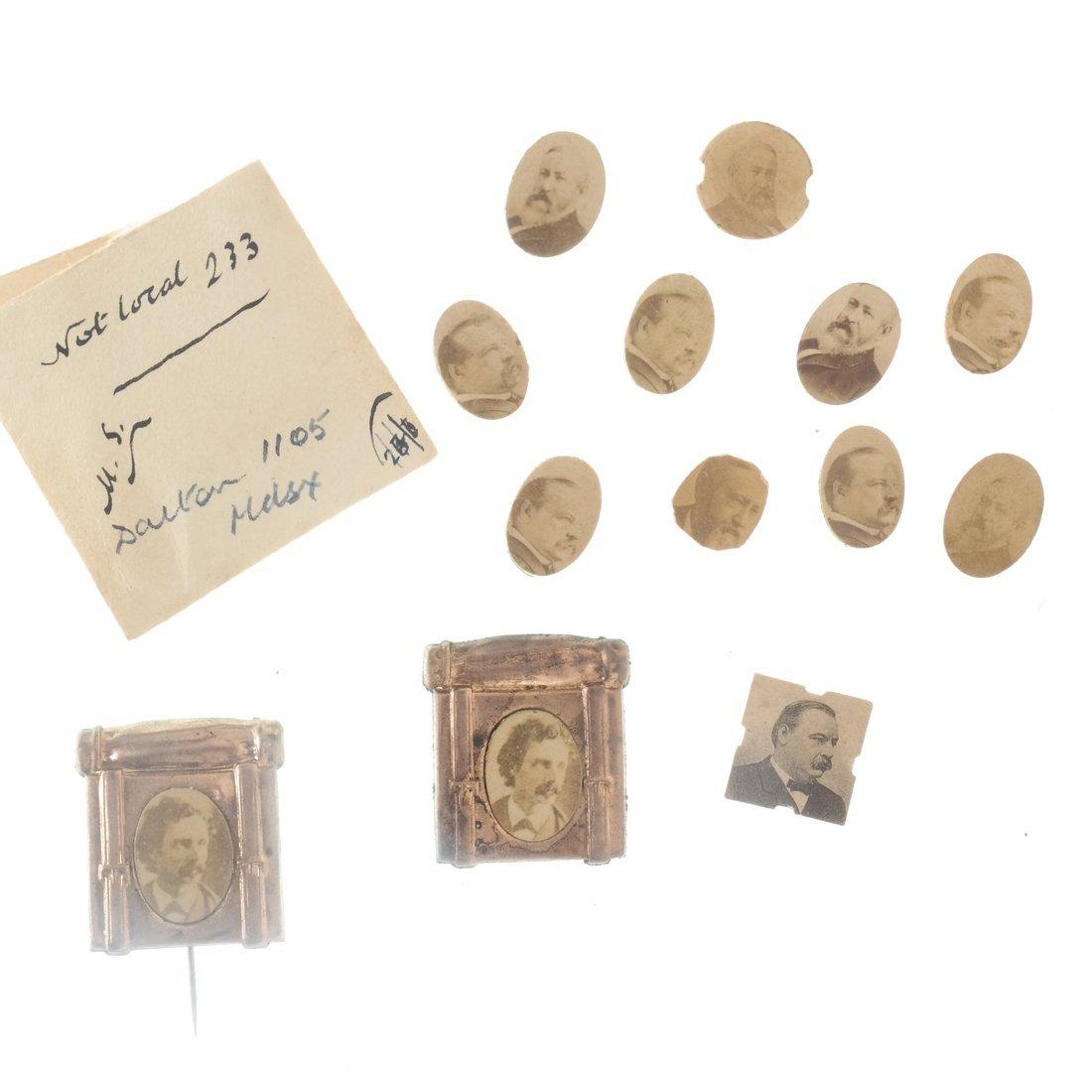 Miscellaneous 1892 Albumen Prints & Badges