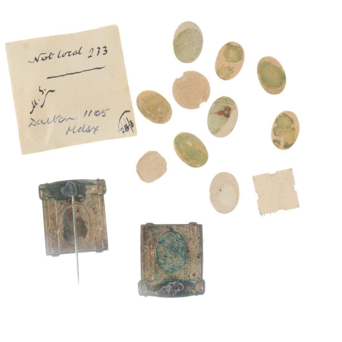 Miscellaneous 1892 Albumen Prints & Badges - 2