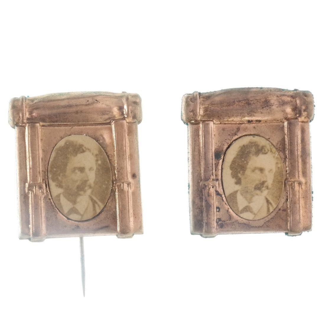 Miscellaneous 1892 Albumen Prints & Badges - 3