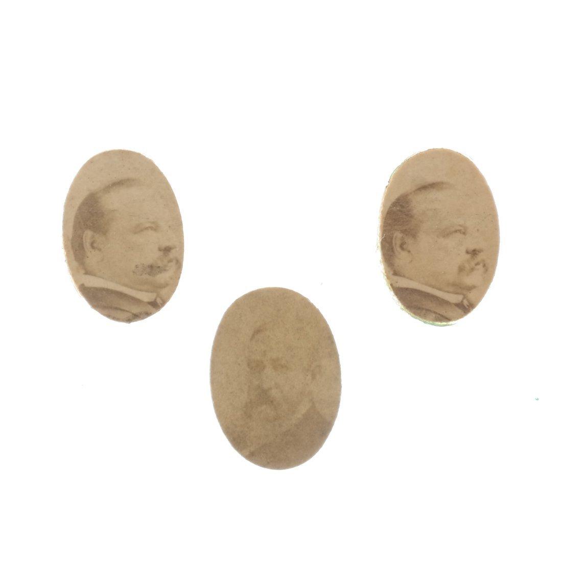 Miscellaneous 1892 Albumen Prints & Badges - 4