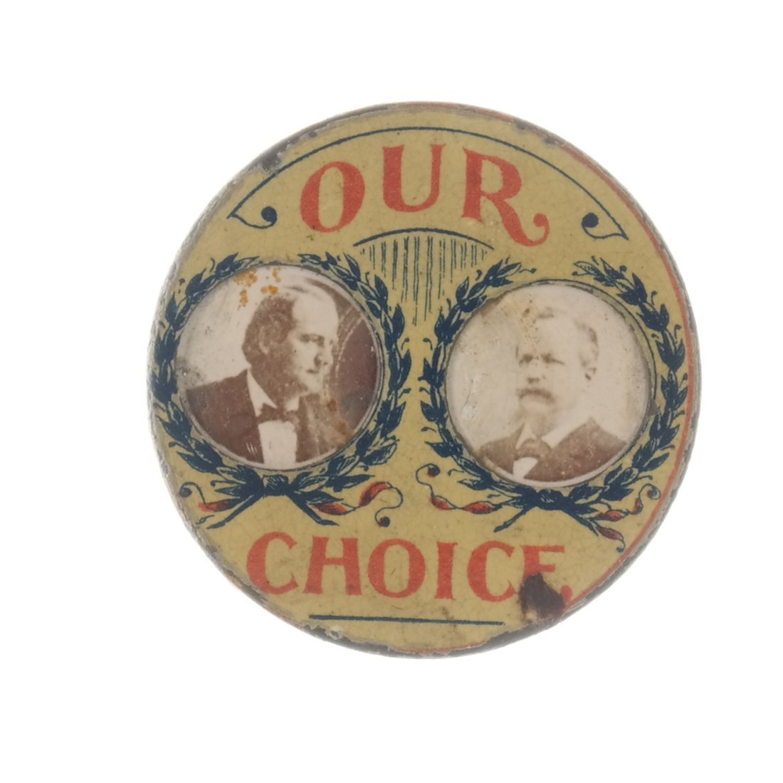 Two 1896 Presidential Campaign Pins - 3