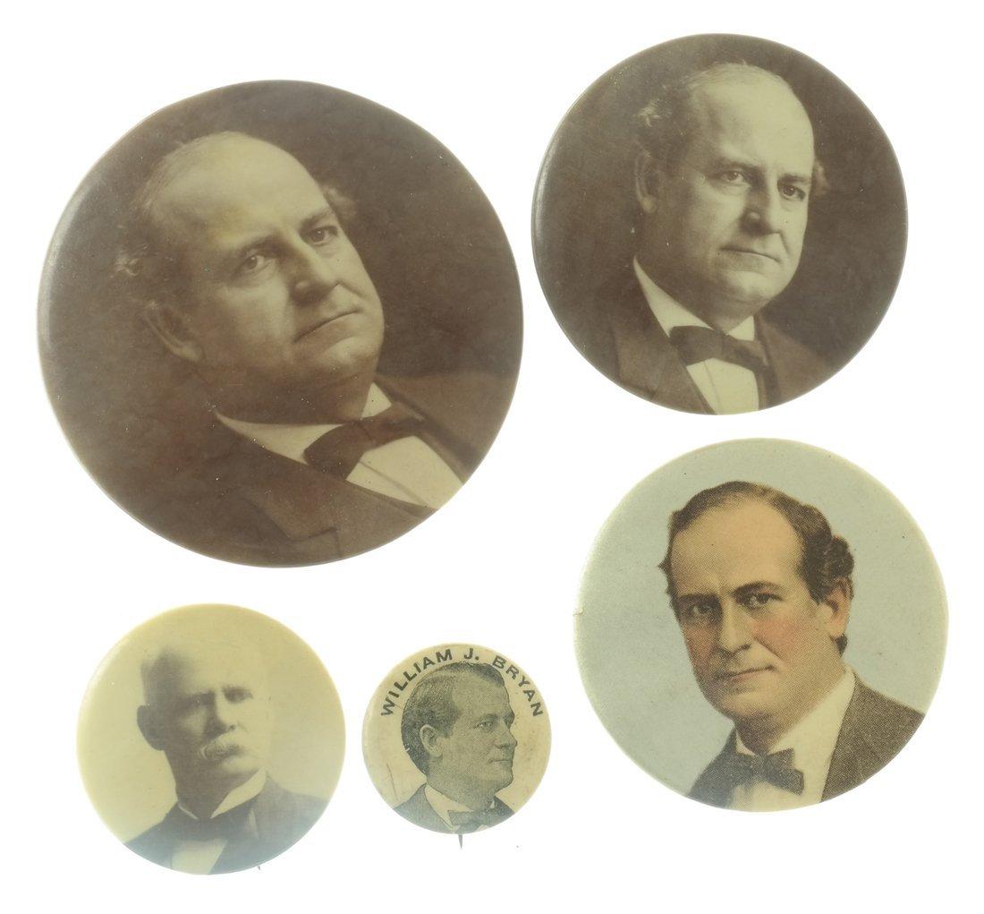 W.J. Bryan - Seventeen 1900 Items - 4