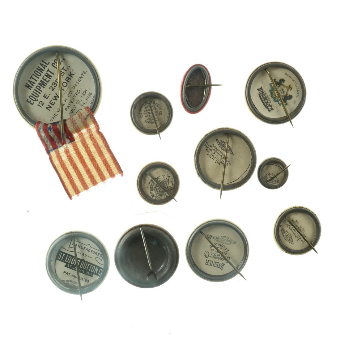 Assorted State and Local Buttons - 2