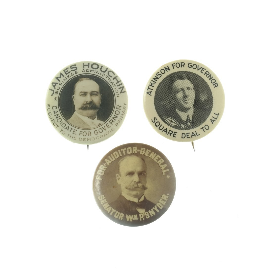 Assorted State and Local Buttons - 3