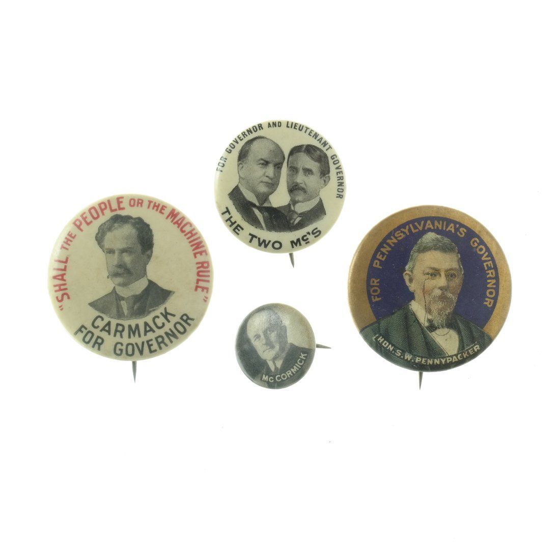 Assorted State and Local Buttons - 4