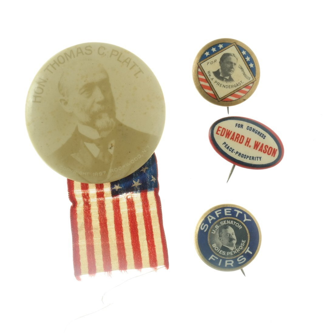 Assorted State and Local Buttons - 5
