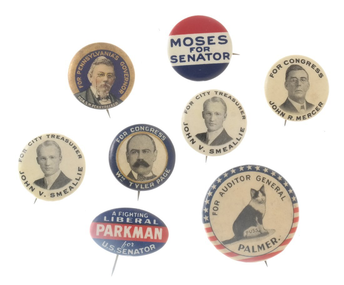 Twenty-nine Various Local Election Buttons - 4