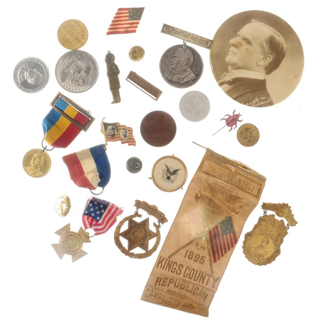 William McKinley - Campaign and Memorial Items