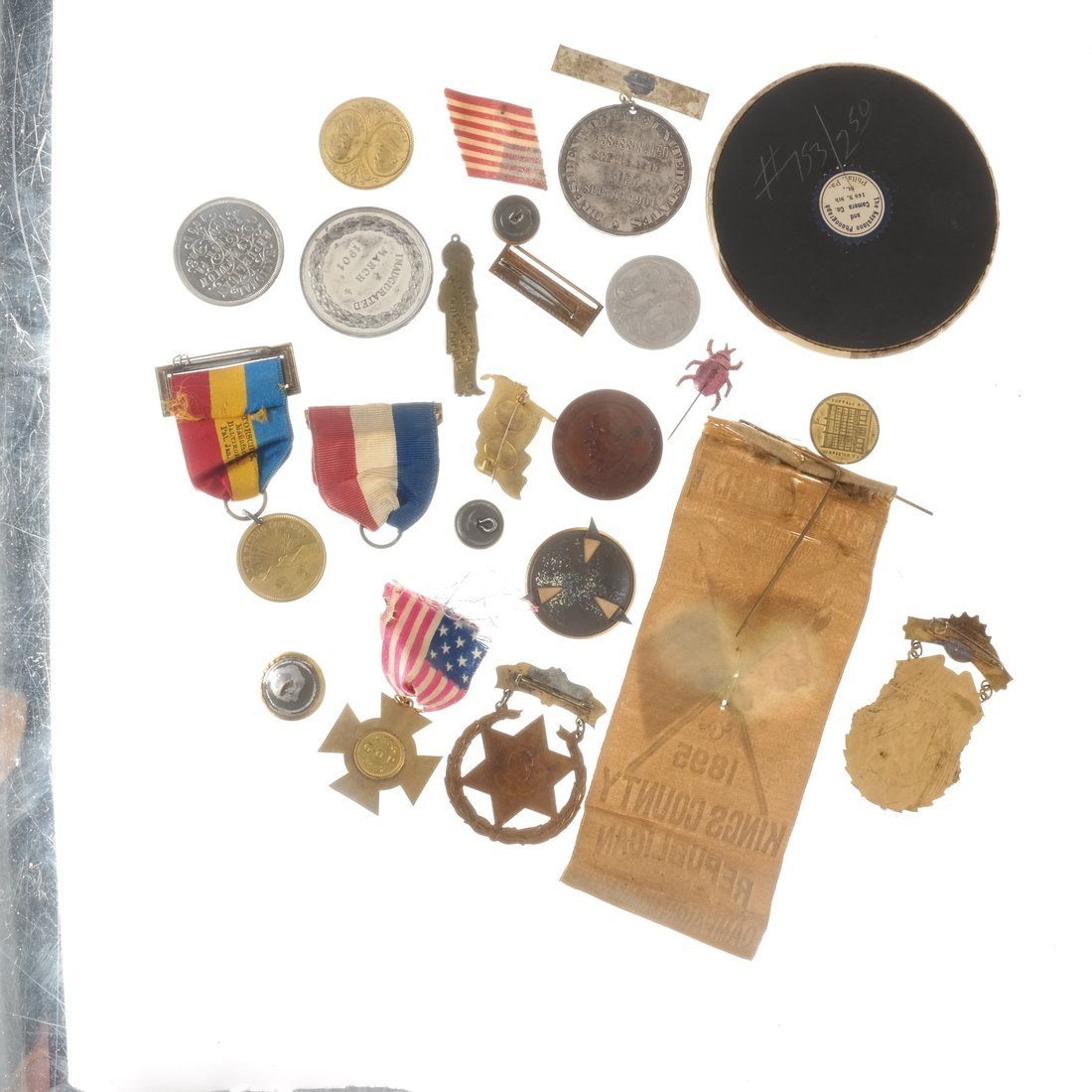 William McKinley - Campaign and Memorial Items - 2