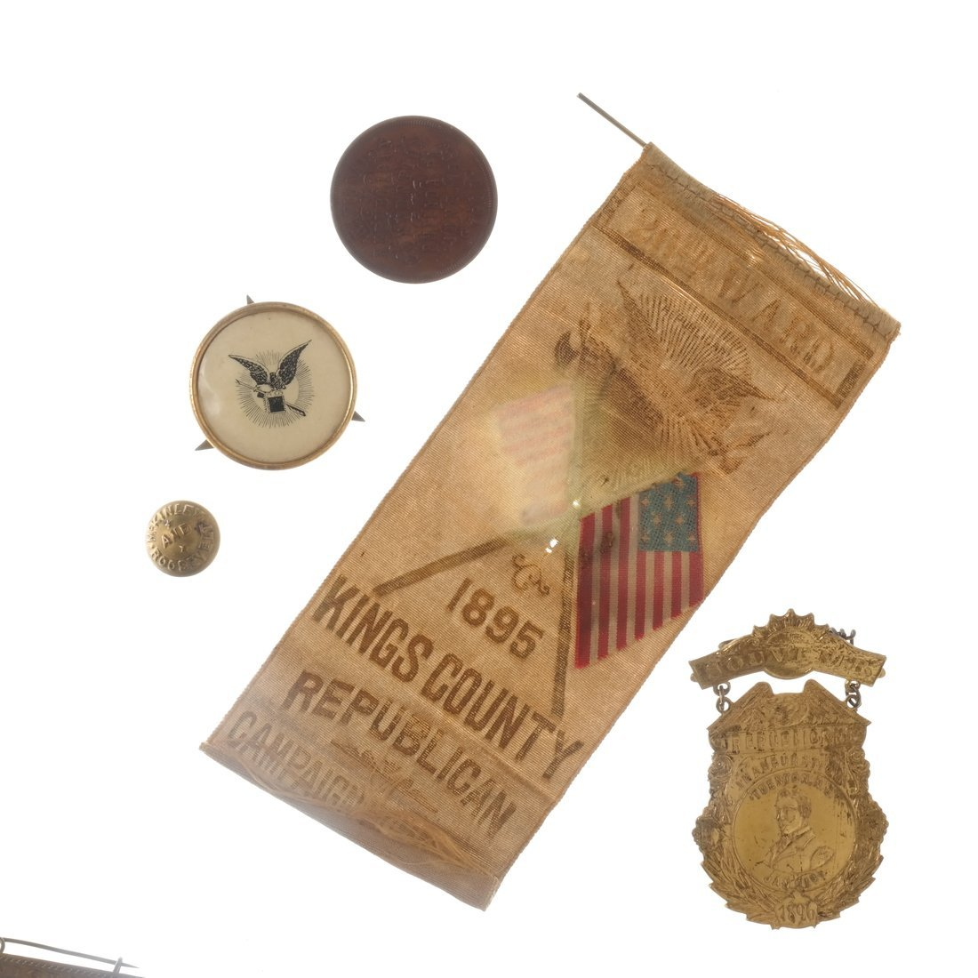 William McKinley - Campaign and Memorial Items - 3