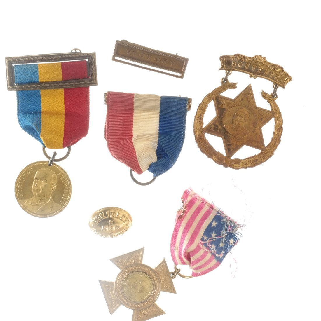 William McKinley - Campaign and Memorial Items - 4