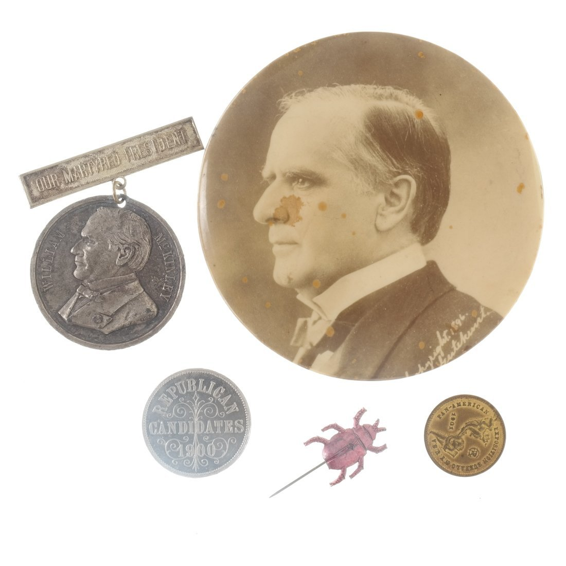 William McKinley - Campaign and Memorial Items - 5