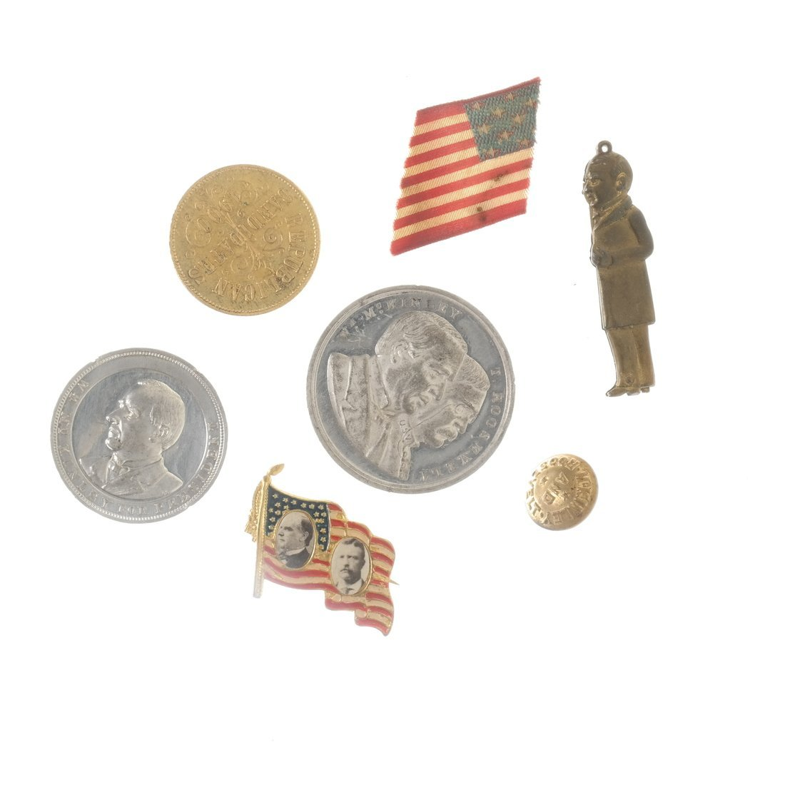 William McKinley - Campaign and Memorial Items - 6