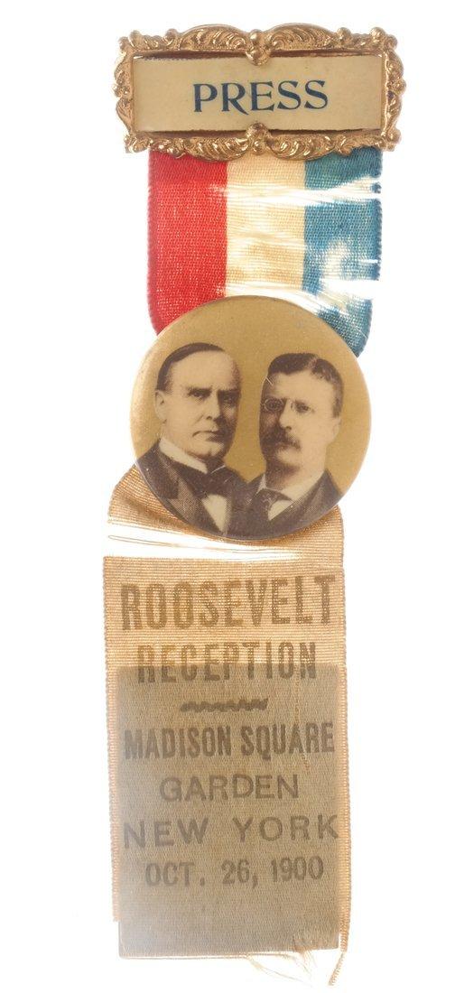 Wm. Mckinley & T. Roosevelt - Three 1900 items - 3