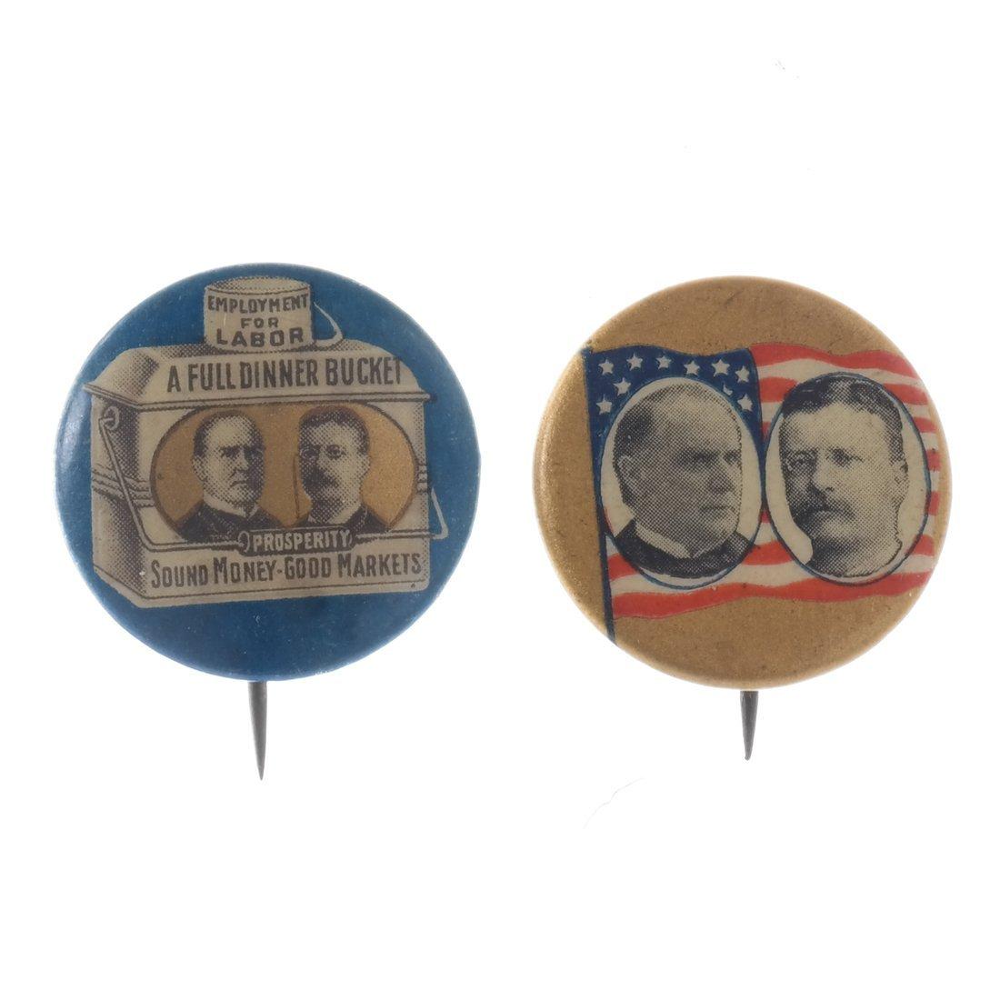 Wm. McKinley, Hobart, and Roosvelt - 1896 & 1900 - 4