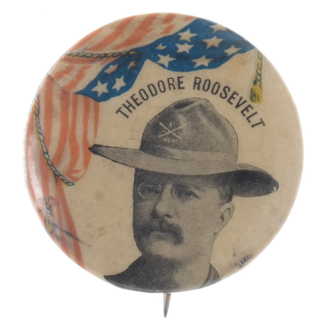 T. Roosevelt - Five Buttons & Badges - 4