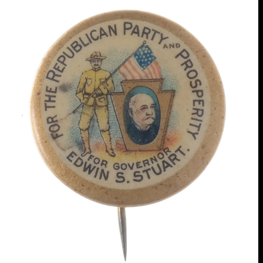 T. Roosevelt - Five Buttons & Badges - 6