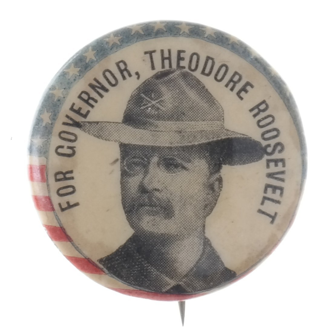 T. Roosevelt - Five Buttons & Badges - 7