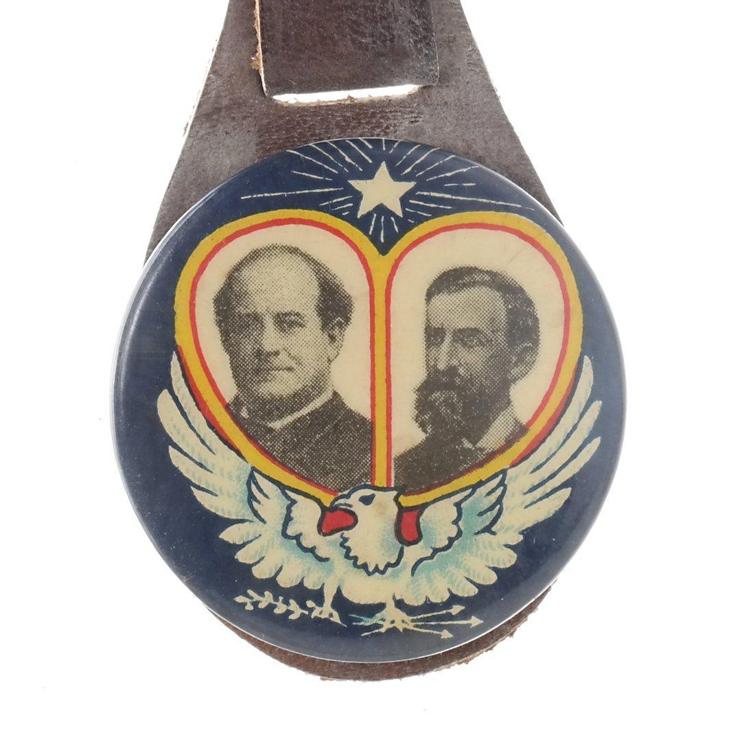 Bryan & Kern 1908 Jugate Fob