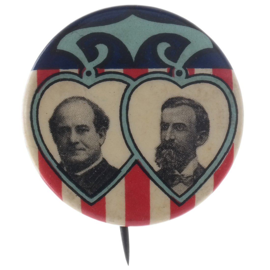 Bryan & Kern 1908 Jugate Celluloid Pinback