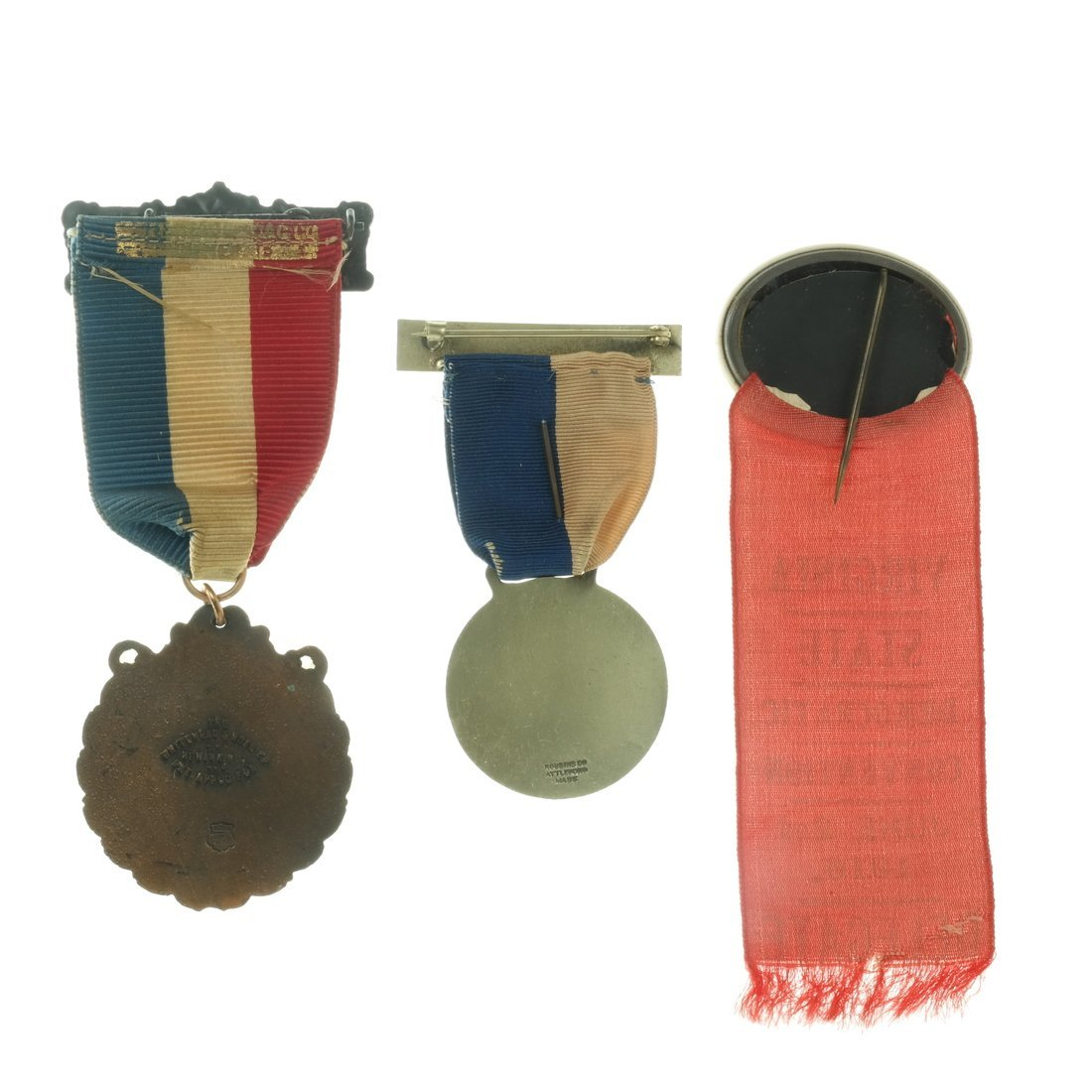 Three 1916 Convention Badges - 2