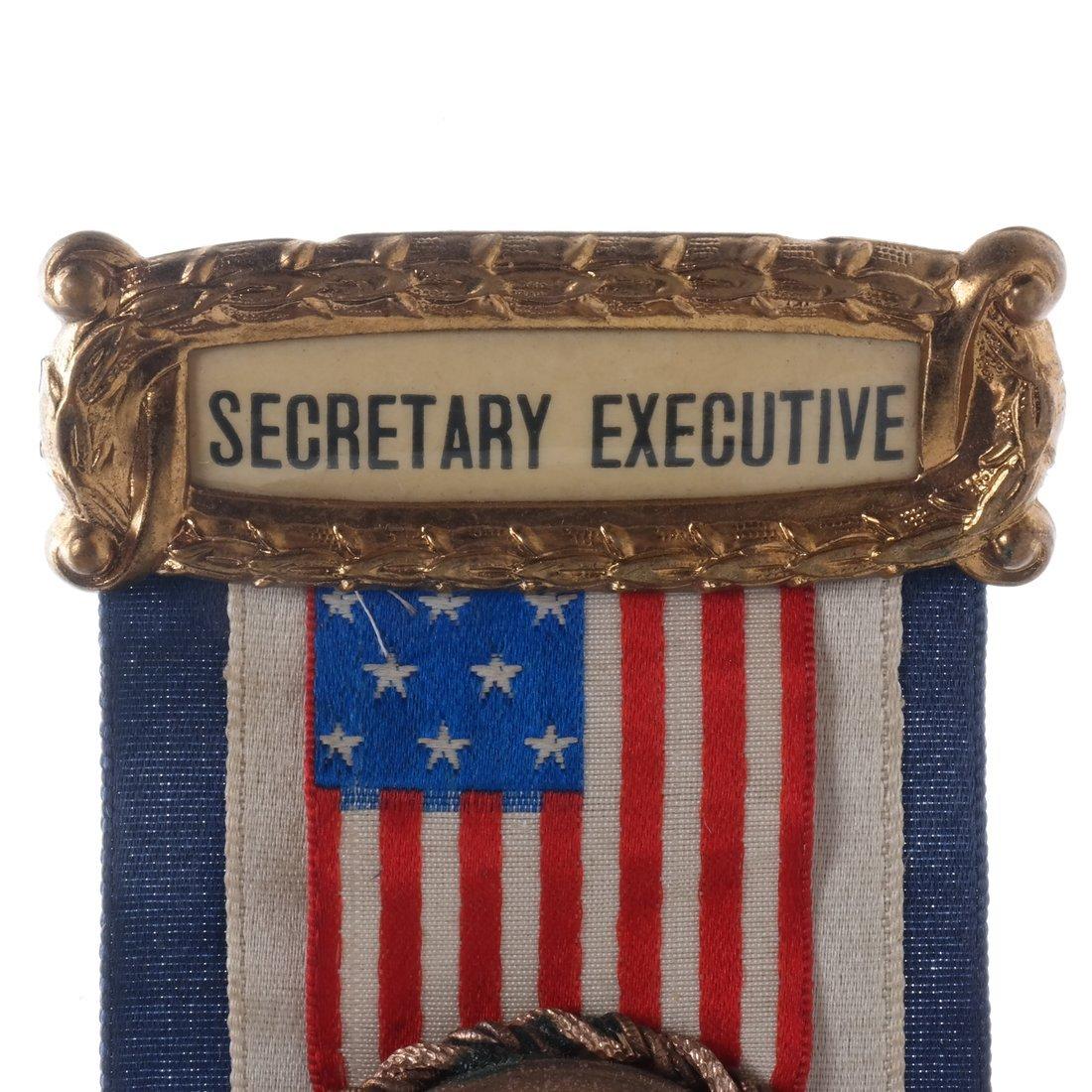 Charles E. Hughes 1906 Gubernatorial Campaign Ribbon - 4