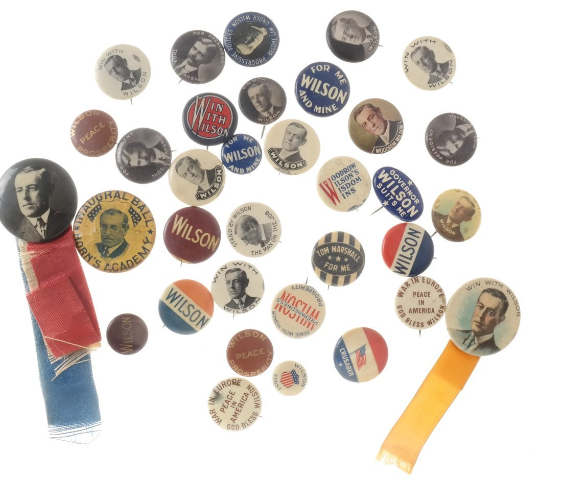 Woodrow Wilson - Large Group of Items