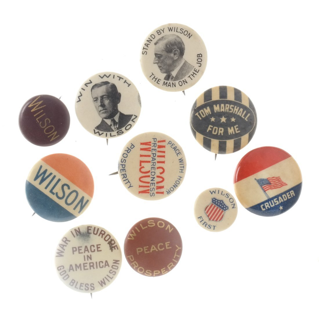 Woodrow Wilson - Large Group of Items - 2