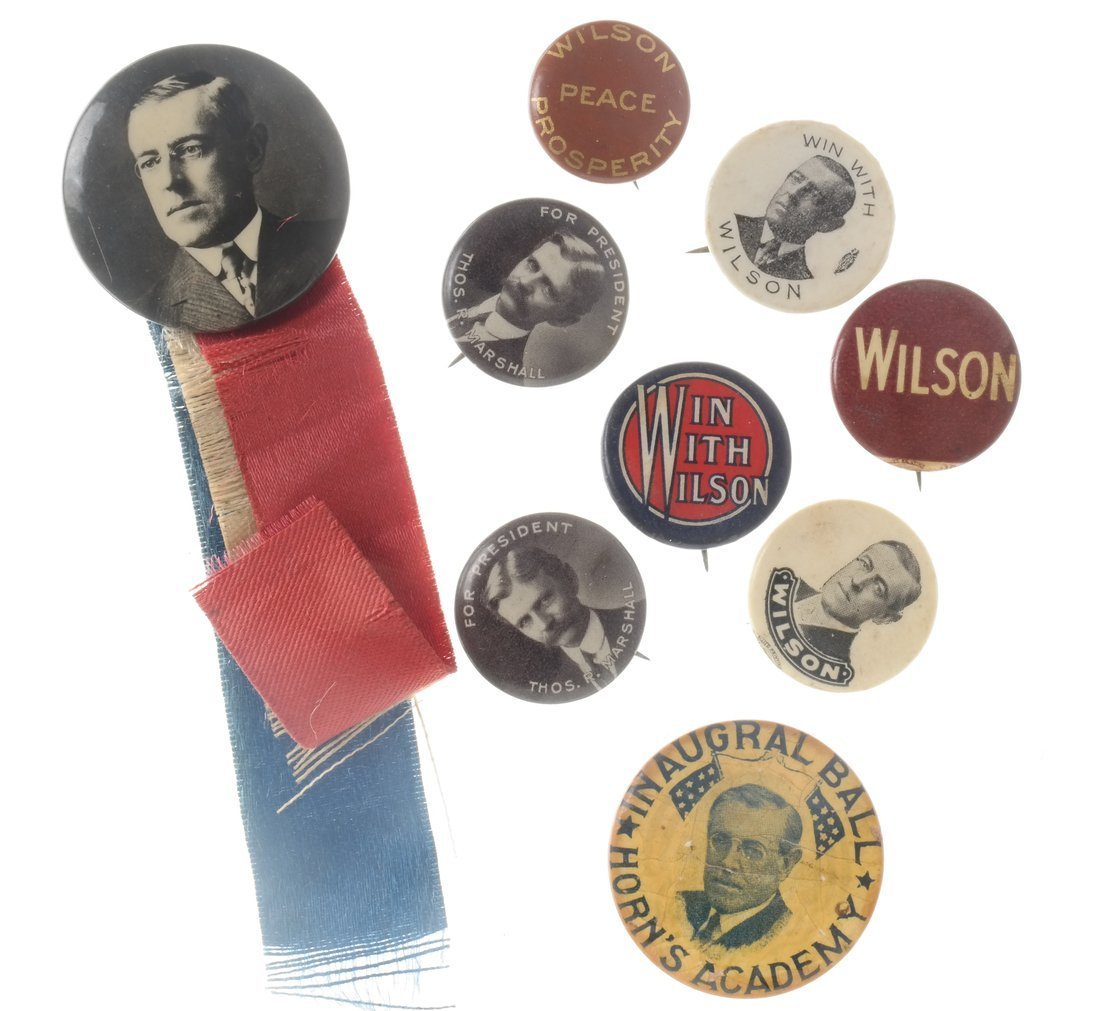 Woodrow Wilson - Large Group of Items - 3