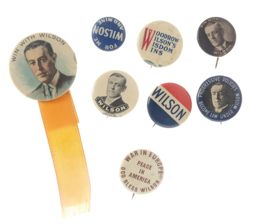 Woodrow Wilson - Large Group of Items - 4