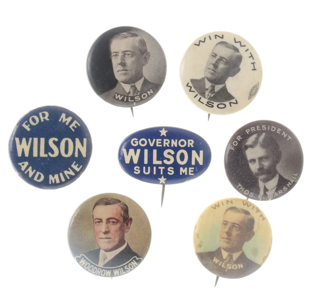 Woodrow Wilson - Large Group of Items - 5
