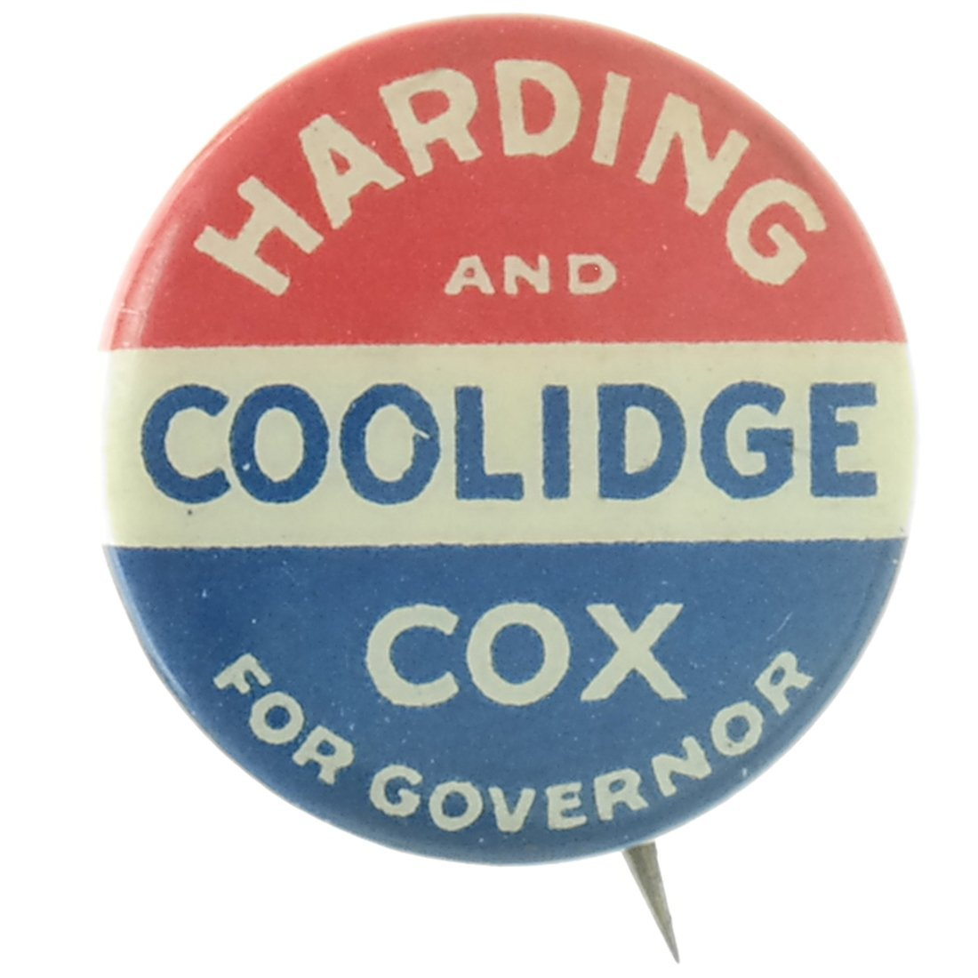 Harding & Coolidge - Three 1920 Celluloids - 3