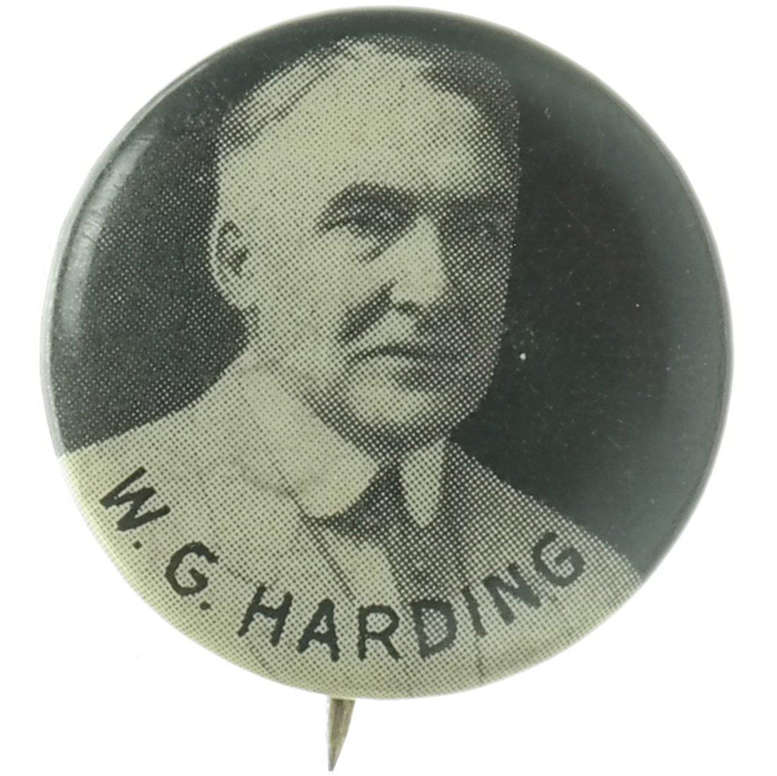 Harding & Coolidge - Three 1920 Celluloids - 4
