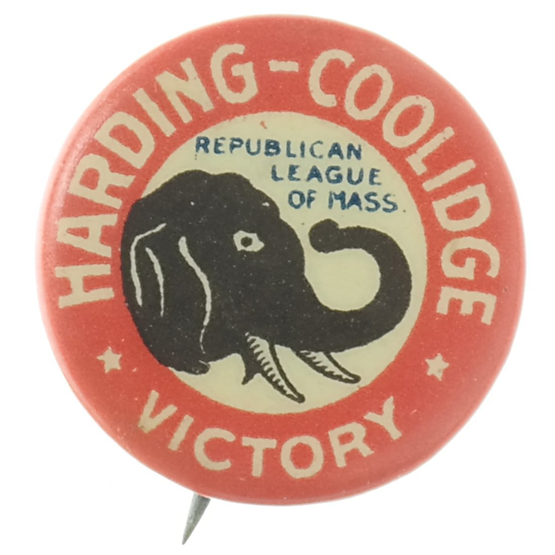 Harding & Coolidge - Three 1920 Celluloids - 5