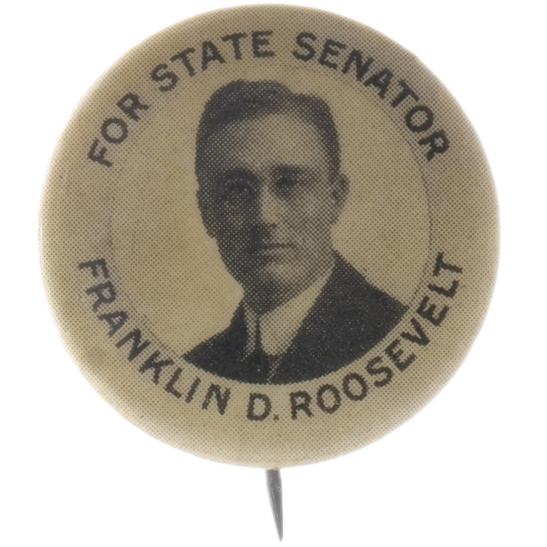 Franklin D. Roosevelt 1912 N.Y. State Senate Hopeful