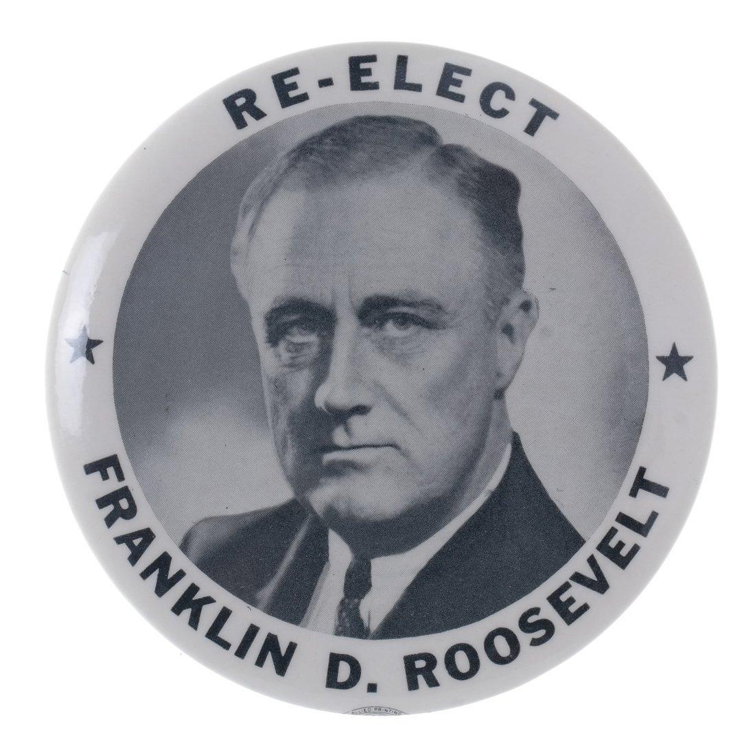 FDR & Dewey - Four 1944 Buttons - 5