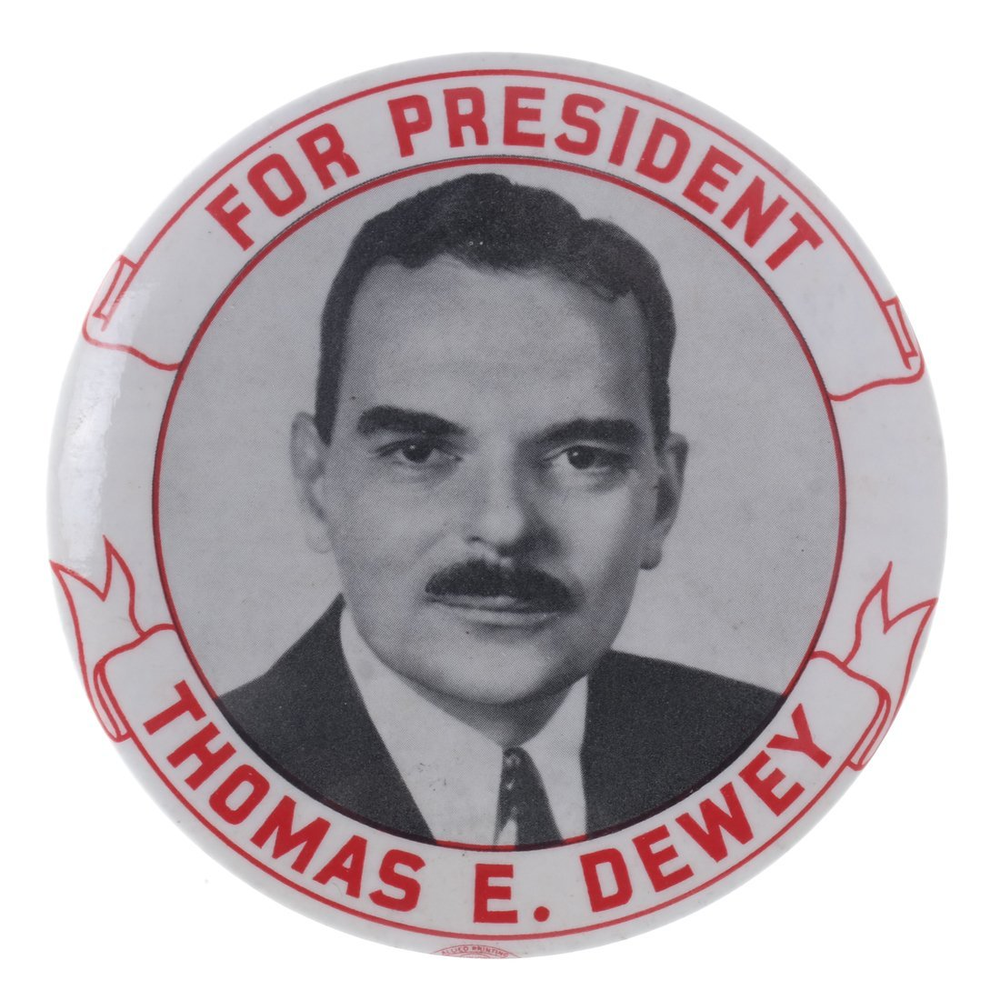FDR & Dewey - Four 1944 Buttons - 6