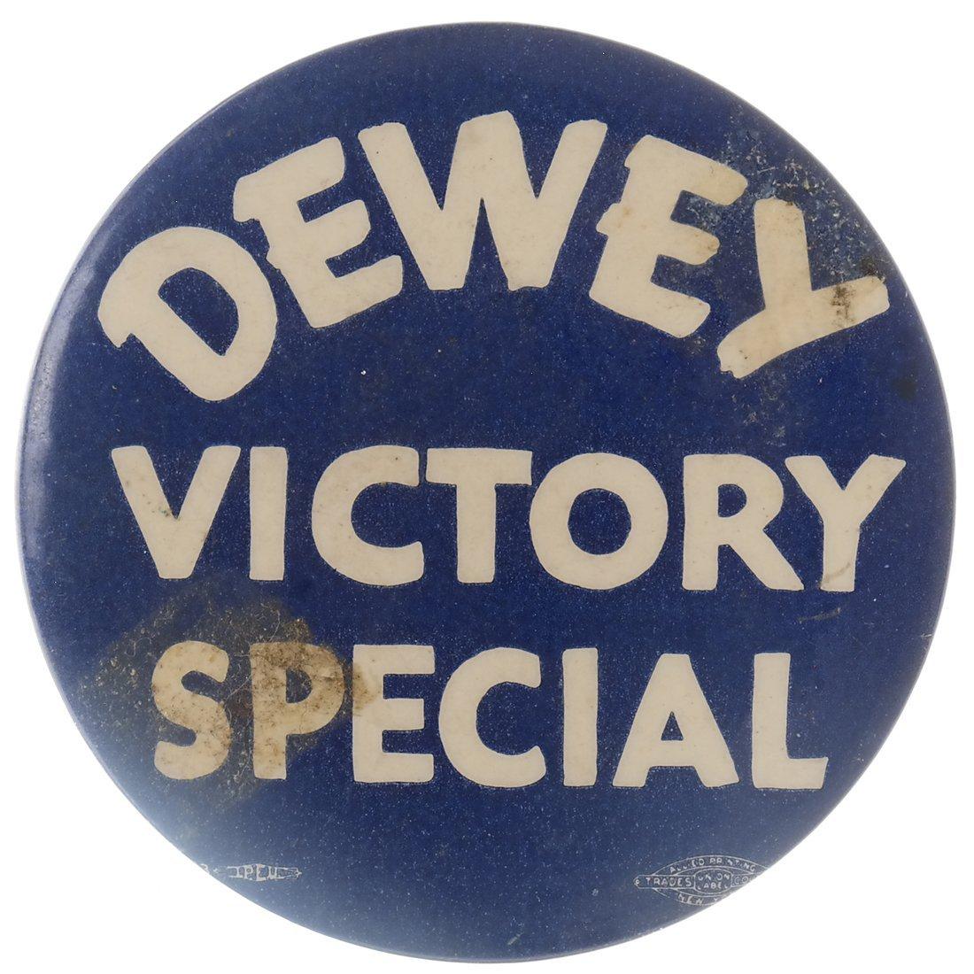 "Thomas E. Dewey 1948 ""Victory,"" ""Staff,"" & ""Team"" - 3"